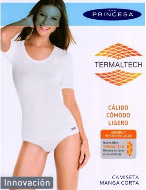 Samarreta màniga curta tèrmica Princesa