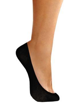 Calcetines salva-pies de algodón invisibles