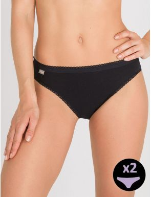 Calcetes high leg cotó Playtex x2