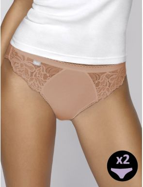 Calcetes high leg d'encaix Playtex x2