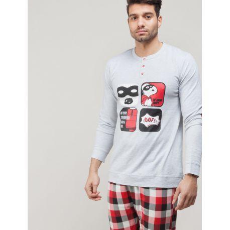 Pijama per home de Snoopy