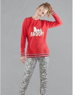 Pijama dona hivern Snoopy