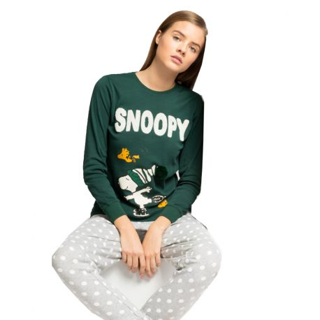 Pijama llarg per a dona de Snoopy
