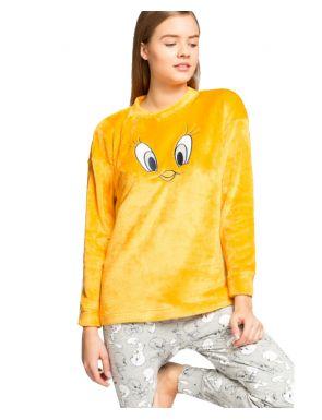Pijama llarg peluix Piolín de Gisela