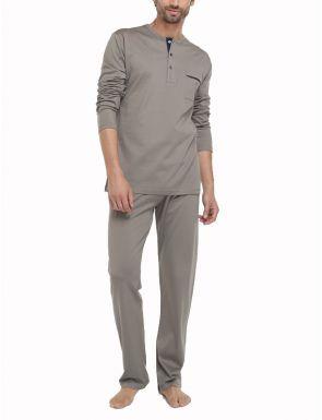 Pijama Fil d'Escòcia Topo