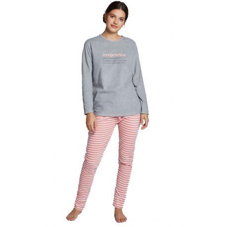Pijama llarg polar de dona