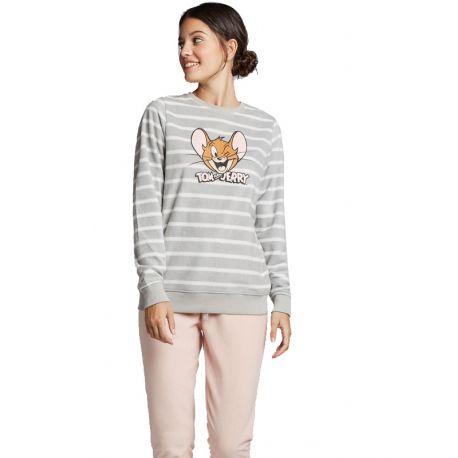 Pijama polar Tom and Jerry Dona