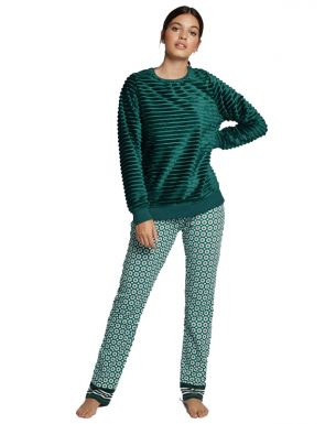 Pijama llarg de peluix Gisela