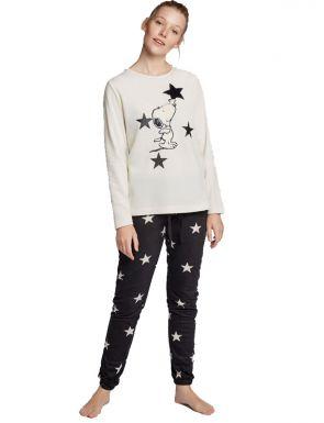 Pijama llarg Snoopy de dona