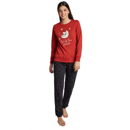 Pijama de punt llarg de Snoopy de dona