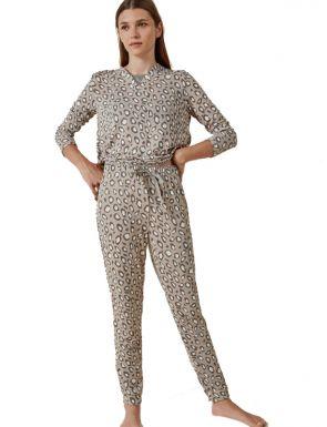 Pijama estampat animal print