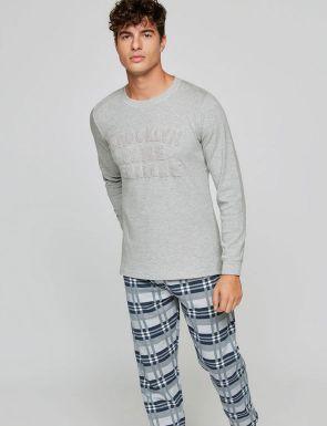 Pijama Brooklyn bordat de Gisela